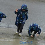 Playing in Puddles-The Best Rainy Day Activity