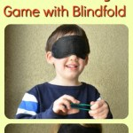 Math Patterning Game With a Blindfold