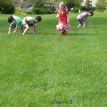 The Great Ice Cream Cone Race-Gross Motor Game