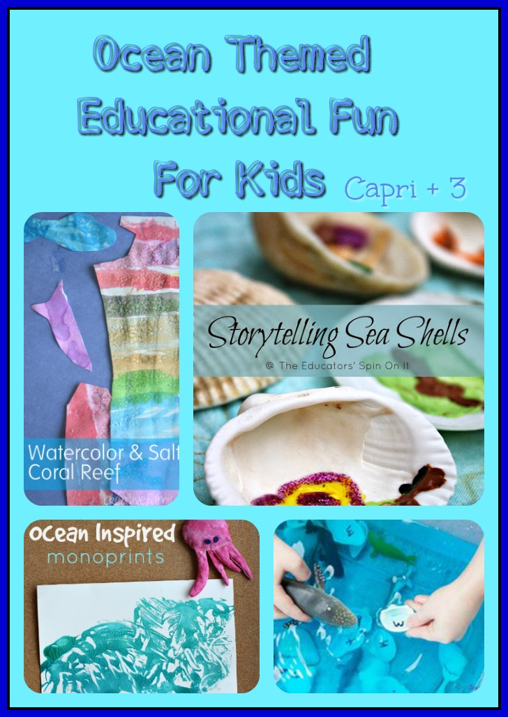 Ocean Themed Educational Fun For Kids