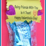 Being Friends With You Is A Treat-Free Printable Valentine