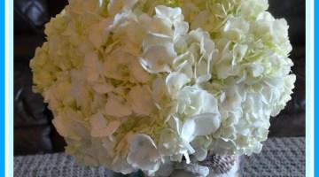 DIY Seashell Vase
