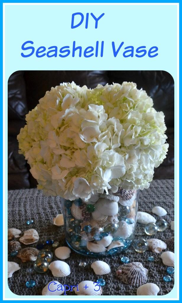 Diy Seashell Vase Capri 3