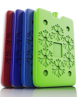 Ice Packs with fun snowflake design
