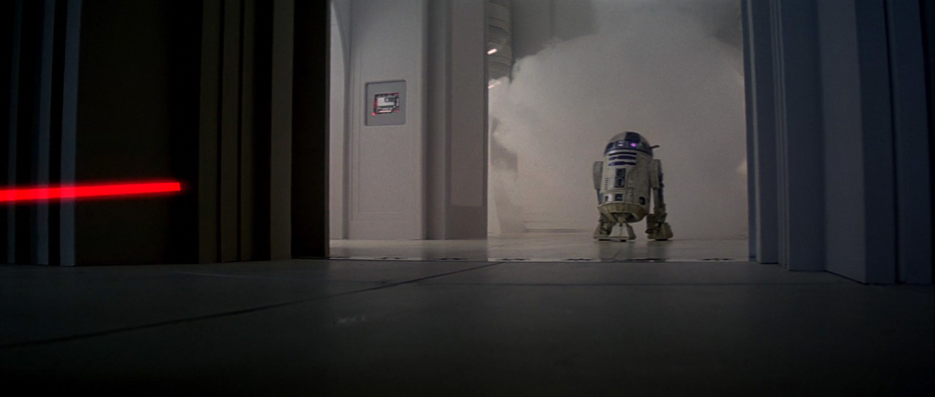R2D2 who's known as Artoo Detoo in Star Wars The Empire Strikes Back which is Star Wars Episode V which is a Star Wars movie called The Empire Strikes back which features R2D2 who's known as Artoo Detoo.