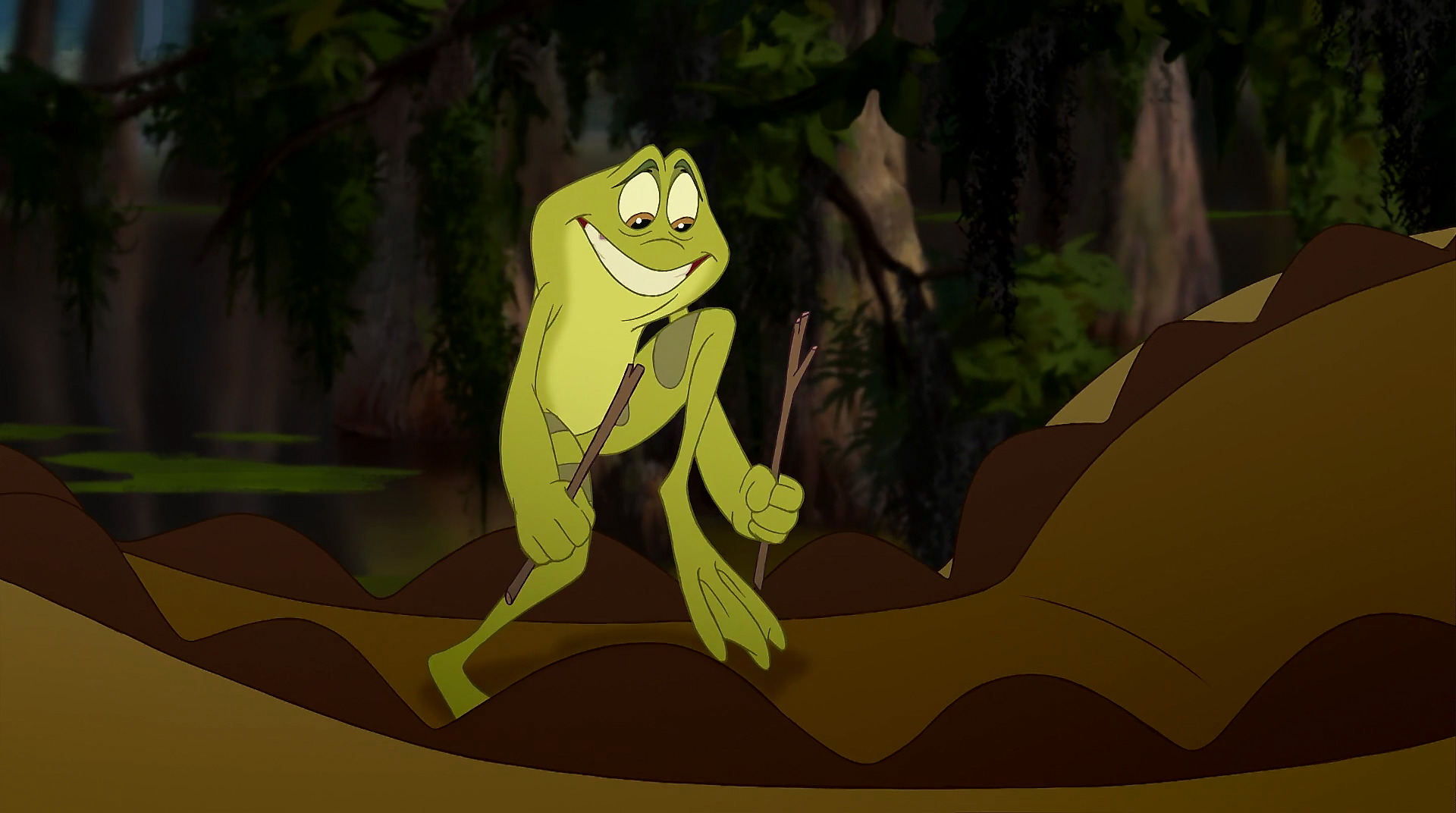The Princess and the Frog 2009  Animation Screencaps
