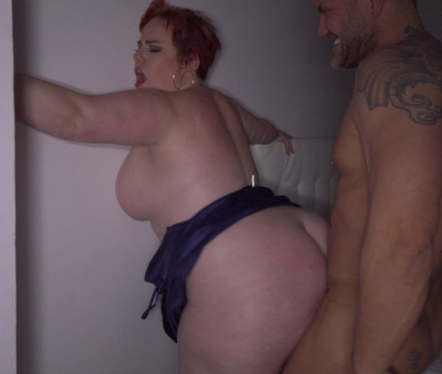 Busty Red Haired Bbw Gets Her Ass Hammered By Nacho Vidal
