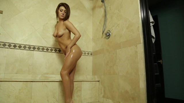 Very Attractive Brunette Babe Gets Fucked in the Shower Starring: Jojo Kiss