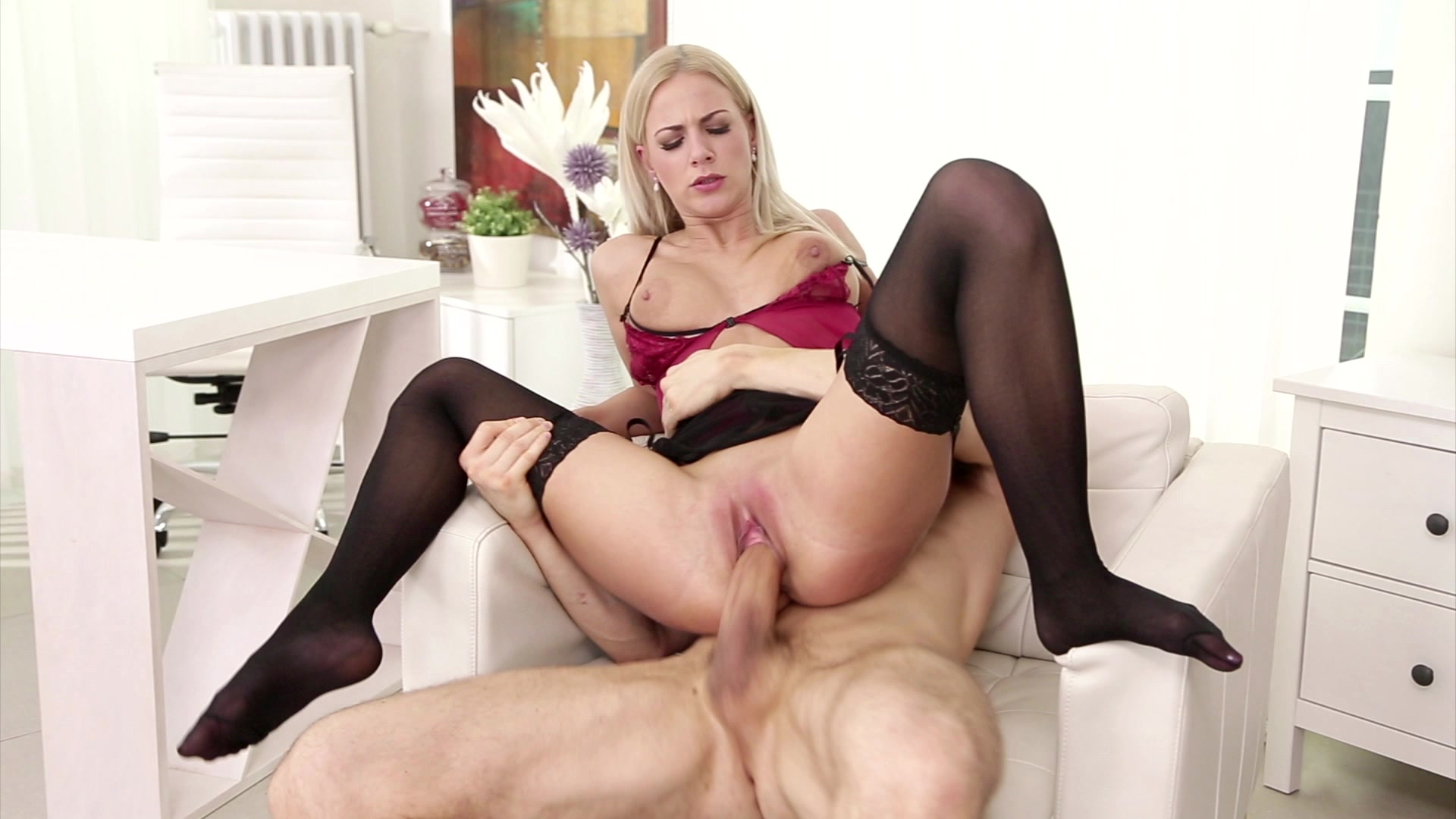 Scene 1 - Beautiful Blonde Babe Nathaly Heaven Sucks His Cock and Gets Her Pussy Penetrate..., Starring: Nathaly Heaven