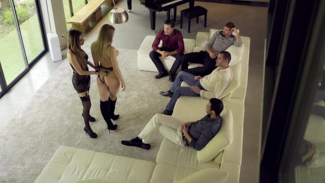 Cara & Lucy Escorts Deluxe, Marc Dorcel, Herve Bodilis, Cara St Germain, Lucy Heart, Anna Polina, Mina Sauvage, Clea Gaultier, Feature, All Sex