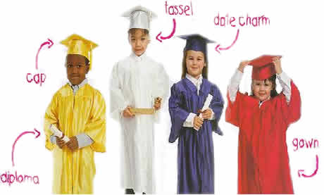 pre school graduation regalia