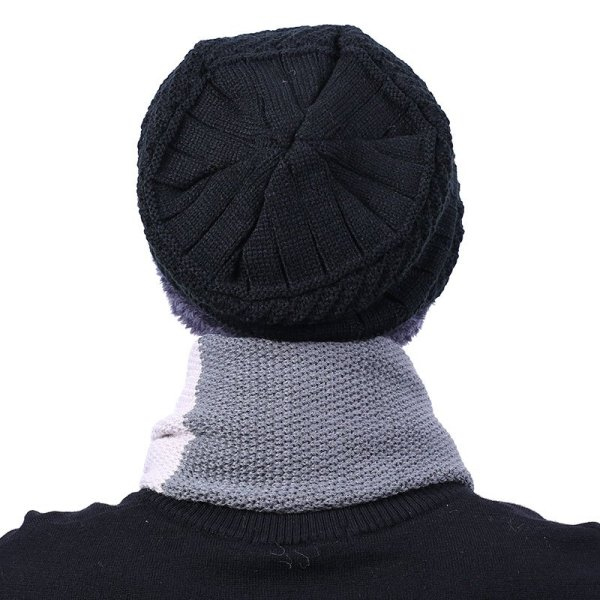 new knitted hat fashion Beanies Knit Men's Winter Hat Caps Skullies Bonnet  For Men Women Beanie Casual Warm Baggy Bouncy 5