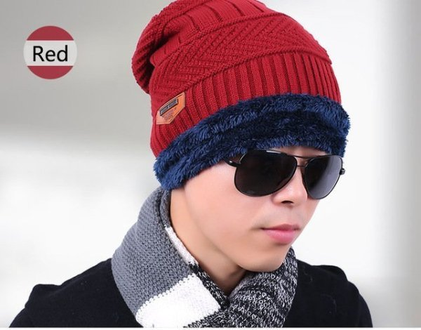 new knitted hat fashion Beanies Knit Men's Winter Hat Caps Skullies Bonnet  For Men Women Beanie Casual Warm Baggy Bouncy 14