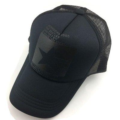New Five-pointed Big Star Pattern Mesh Baseball cap 10
