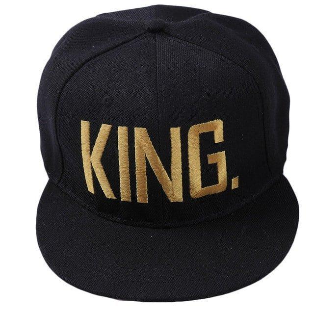 9dba2635d89 Fashion KING QUEEN Hip Hop Baseball Caps Embroider Letter Couples Lovers  Adjustable Snapback Sun Hats for Men Women KH981562