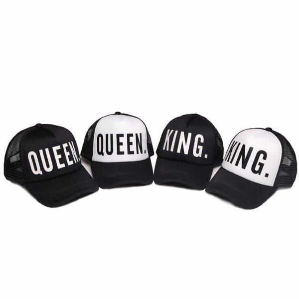 KING QUEEN Baseball Caps 2