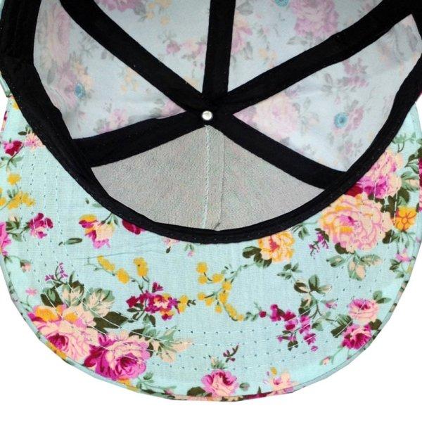 Men Women Baseball Cap Hip Hop Caps Floral Style 8
