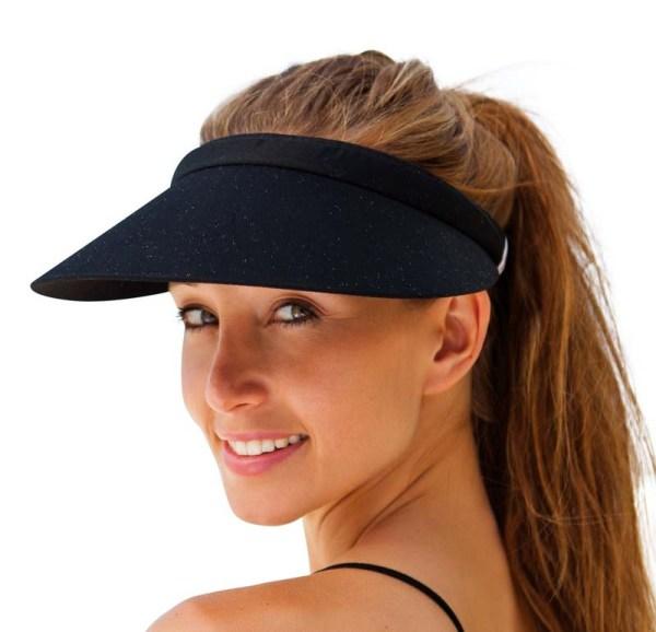 Unisex  Clip-On Visor sun Hat Summer Cotton topless sports golf cap 1