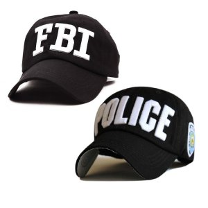"a4928788373b4 2 Style embroidery ""POLICE"" ""FBI"" Letter baseball cap snapback hats for men  women"