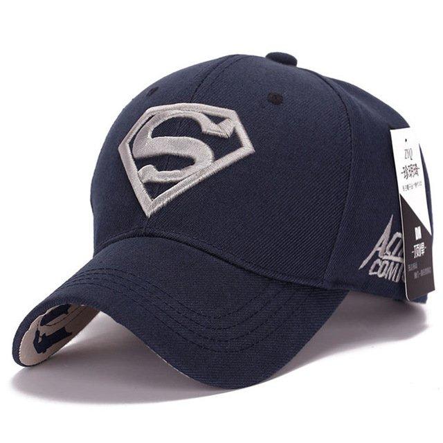 2017 Gorras Superman Cap Casquette Superman Baseball Cap Men Brand Women  Bone Diamond Snapback For Adult Trucker Hat 7c7590266190