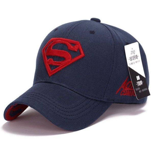 Gorras Superman Cap Casquette Superman Baseball Cap Men Brand Women Bone Diamond Snapback For Adult Trucker Hat 24