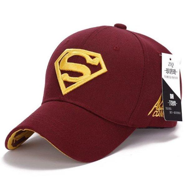 Gorras Superman Cap Casquette Superman Baseball Cap Men Brand Women Bone Diamond Snapback For Adult Trucker Hat 26