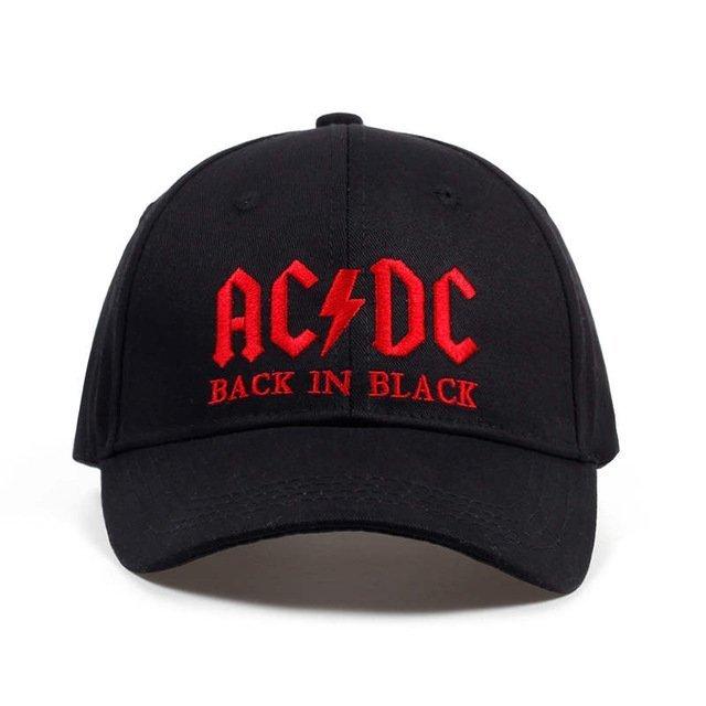 2017 New AC DC band baseball cap rock hip hop cap Mens acdc snapback ... df83652415b1