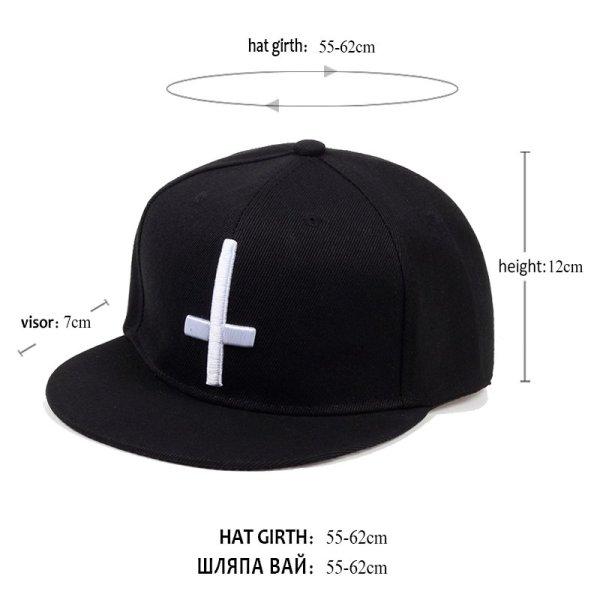 New Brand Street Dance Cool Hip Hop Caps Embroidery Cross Snapback Snap Back Baseball Caps Hats Bone Hat Free Shipping 12