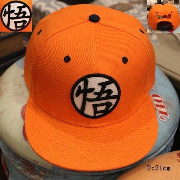 New High Quality Anime Dragon Ball Z /Dragonball Goku Snapback Hat For Men Women Adjustable Hip Hip Baseball Cap Cool 14