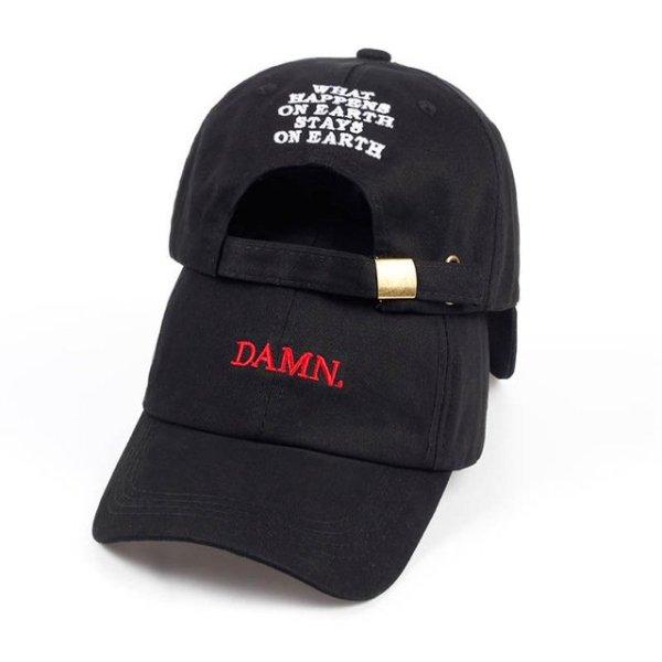 new wine red kendrick lamar damn cap embroidery DAMN. unstructured dad hat bone women men the rapper baseball cap 16