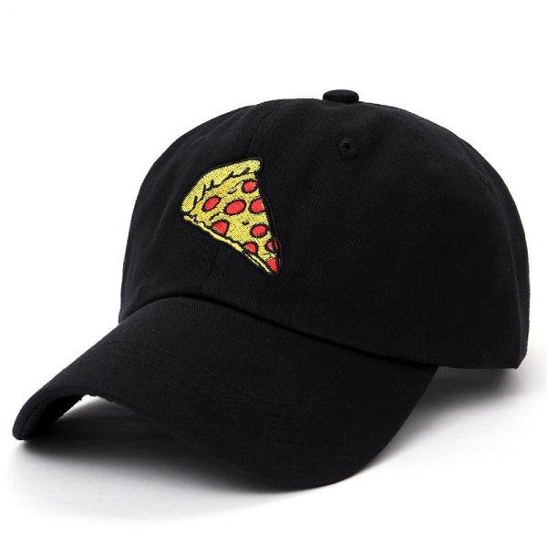 new pizza embroidery Baseball Cap Trucker Hat For Women Men Unisex Adjustable Size dad cap hats 4