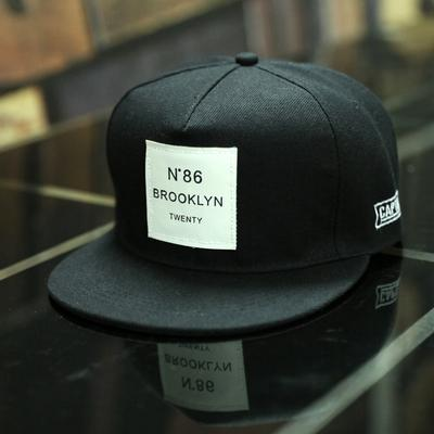 BROOKLYN Letters Solid Color Patch Baseball Cap Hip Hop Caps Leather Sun Hat Snapback Hats 16