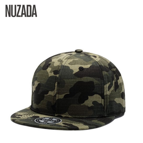 Brand NUZADA Bone Hip Hop Cap  Baseball Caps For Men Women Couple High Quality Cotton Snapback Size Can Be Adjusted Hats 4