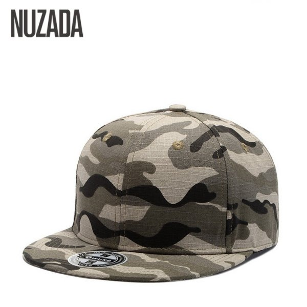 Brand NUZADA Bone Hip Hop Cap  Baseball Caps For Men Women Couple High Quality Cotton Snapback Size Can Be Adjusted Hats 2