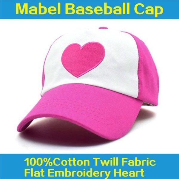 New Spring Summer Gravity Falls U.S Cartoon Mabel Dipper Pines Cosplay Cool Baseball Mesh Caps Adjustable Sport Hat 18