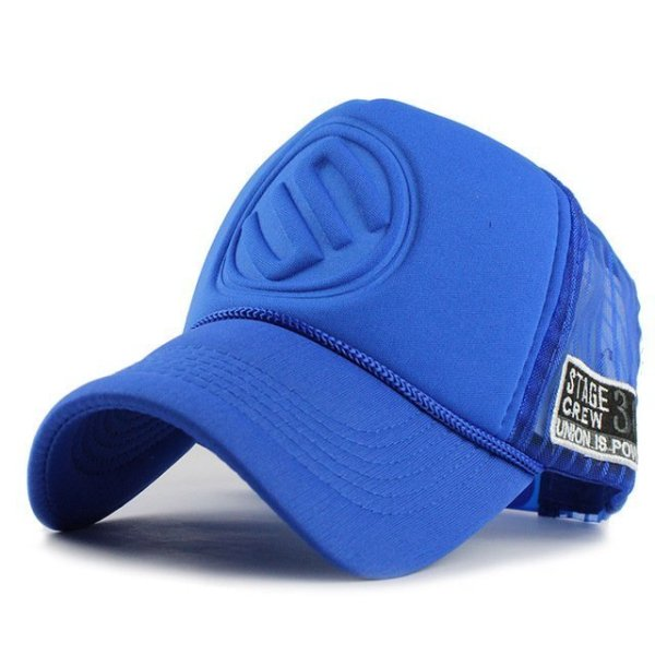 FETSBUY Summer Male And Female Trucker Hats Fitted Casual Hip-hop Street Mesh Hat Casquette Cap Unisex Print Baseball Caps 8