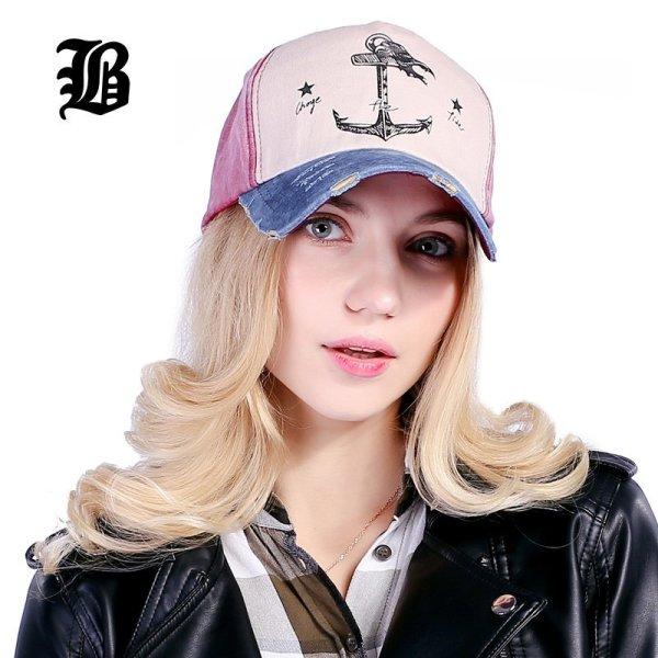 [FLB] 5 panel hip hop snapback hats couples hat Man Woman pure cotton baseball caps do old pirate ship anchor gorras wash cap 3