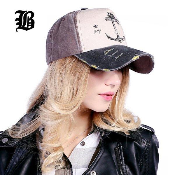 [FLB] 5 panel hip hop snapback hats couples hat Man Woman pure cotton baseball caps do old pirate ship anchor gorras wash cap 4