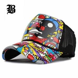 75e8d412499  FLB Wholesale Adult Fashion Unisex Classic Trucker Baseball Mesh Cap  Snapback Hat Vintage Women Men Gorras Hip Hop Baseball Cap