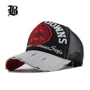 bf1c0a476b6d08 [FLB] Wholesale Baseball Cap summer snapback hats casquette embroidery  letter cap bone girl hats for women men Trucker cap F247