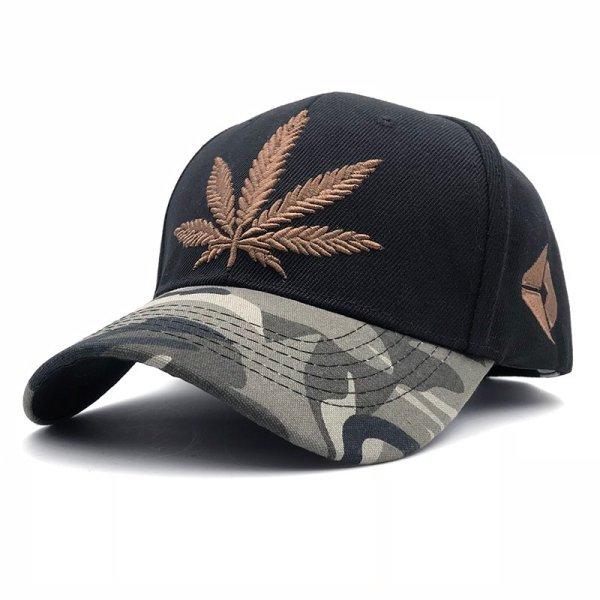 Fashion Weed Snapback Caps Hats Hip Hop Baseball Cap Strapback Men Women Bone Aba Reta Gorras Homme Casquette Weed Leaf Snapback 2