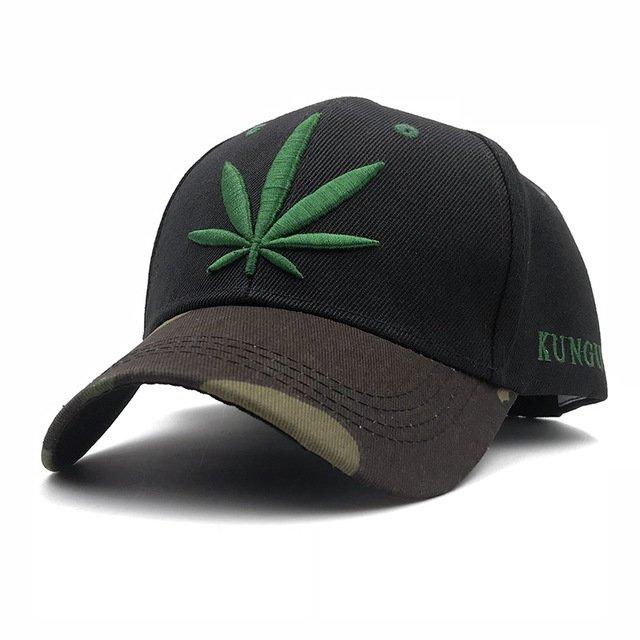 Fashion Weed Snapback Caps Hats Hip Hop Baseball Cap Strapback Men ... 651a2583a34