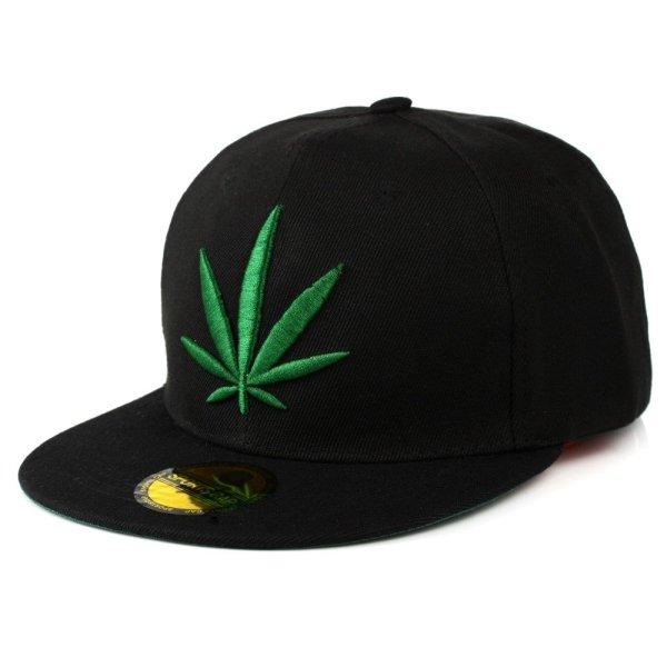 Fashion Weed Snapback Caps Hats Hip Hop Baseball Cap Strapback Men Women Bone Aba Reta Gorras Homme Casquette Weed Leaf Snapback 1
