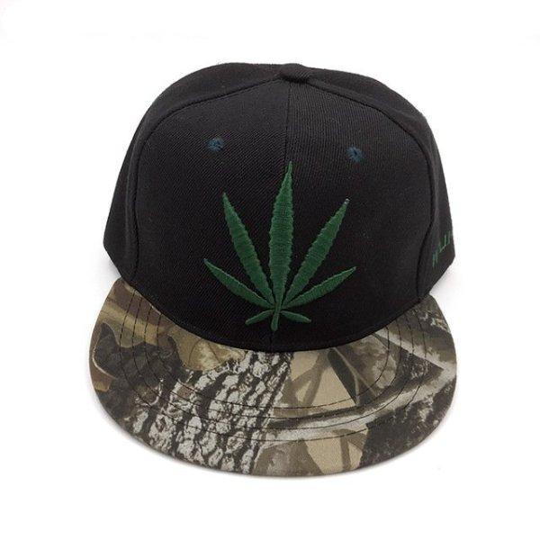 Fashion Weed Snapback Caps Hats Hip Hop Baseball Cap Strapback Men Women Bone Aba Reta Gorras Homme Casquette Weed Leaf Snapback 7