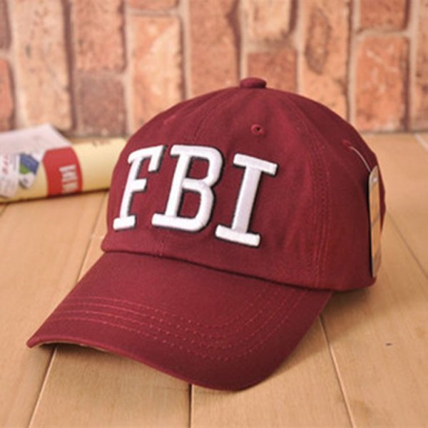 High quality Wholesale Retail 1pc free shipping voron Hat & Cap FBI Fashion Leisure embroidery CAPS Unisex Baseball Cap 4