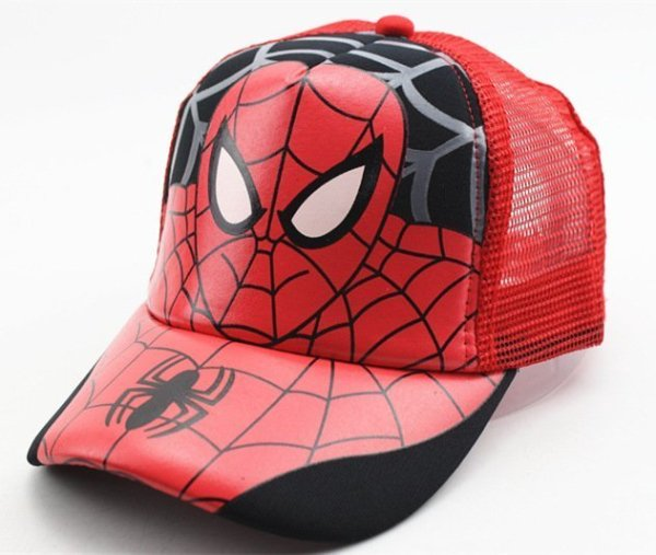 Hot Sale Children Cartoon Colorful  Superman Batman Adjustable Kids Baseball Snapback Cap  Unisex  Hip Hop Hats 44