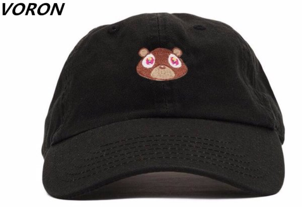 Kanye West Ye Bear Dad Hat Lovely Baseball Cap Summer For Men Women Snapback Caps Unisex Exclusive Release Hip Hop Hot Style Hat 1