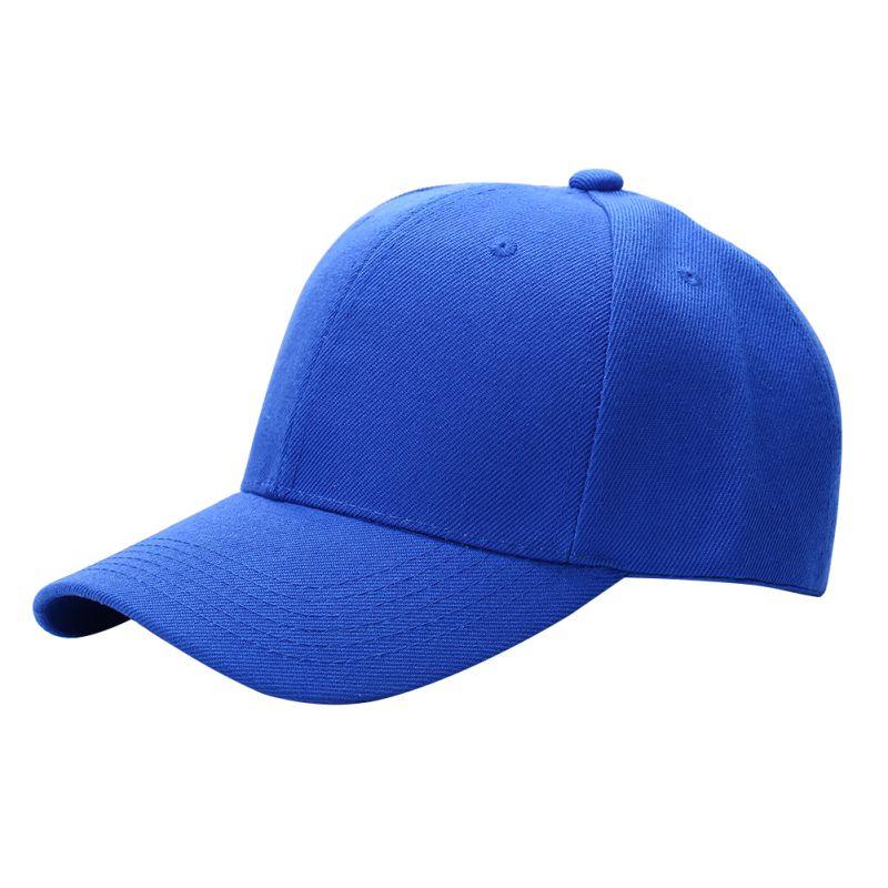 Men Women Plain Baseball Cap Unisex Curved Visor Hat Hip-Hop ... 92a15270fcb