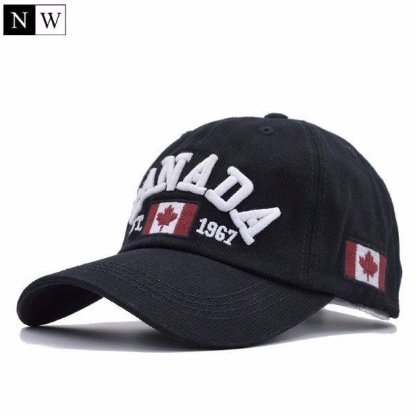 Cotton Gorras Canada Baseball Cap Flag Of Canada Hat Snapback Adjustable Mens Baseball Caps Brand Snapback Hat 3
