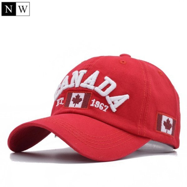 Cotton Gorras Canada Baseball Cap Flag Of Canada Hat Snapback Adjustable Mens Baseball Caps Brand Snapback Hat 9